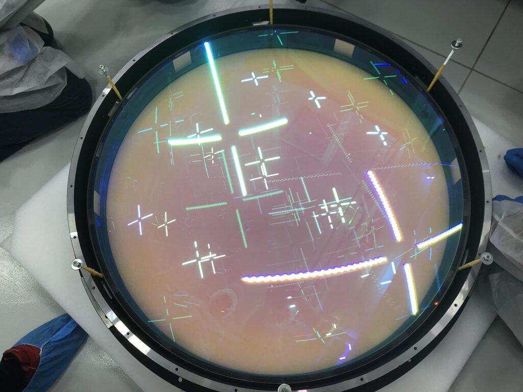 The ESO VLT MOONS lenses